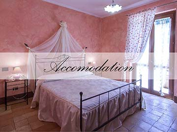 farmhouse La Gismonda bed and breakfast - the rooms