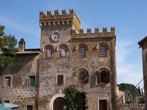 Il castello di Civitella Cesi