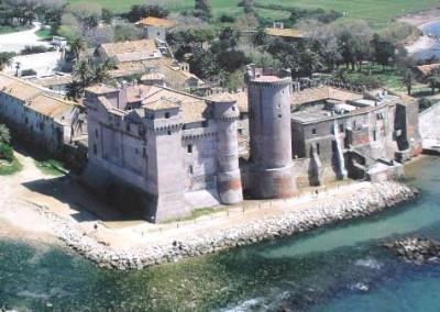 spiaggia santa severa castello santa marinella
