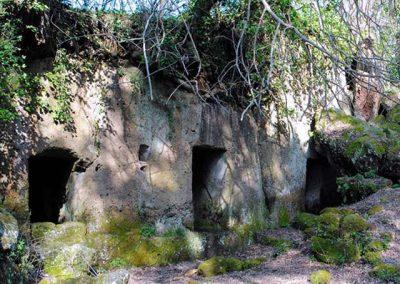 Necropoli etrusca a San Giovenale