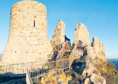 Tolfa rocca Frangipane