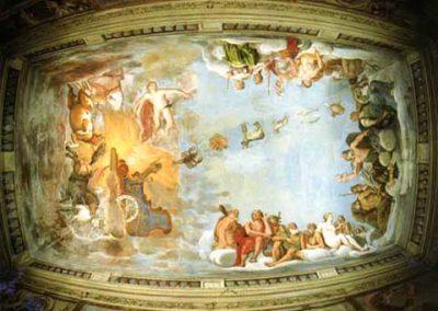 Palazzo Giustiniani a Bassano Romano