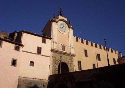 Castello degli Anguillara a Capranica