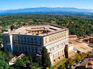 Outern of Palazzo Farnese in Caprarola