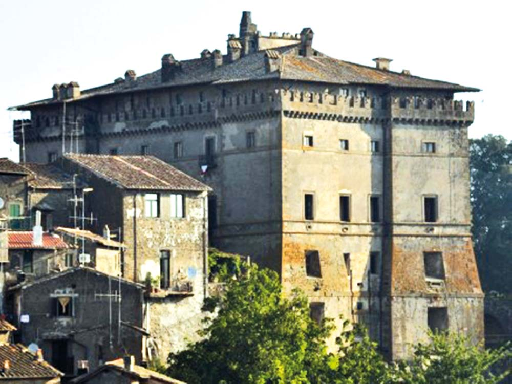 Castello Ruspoli in Vignanello