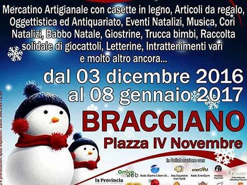 Babbo Natale 8 Dicembre Roma.Mercatino Di Natale A Bracciano Roma 8 Dicembre 2016 6 Gennaio 2017