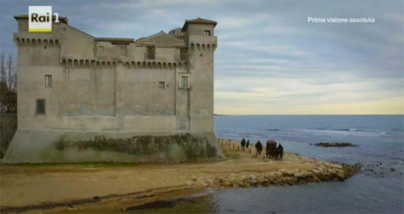 Medici Masters of Florence tv series locations: Castle of Santa Severa