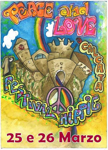 Peace & Love: 1st Hippie Festival in Calcata