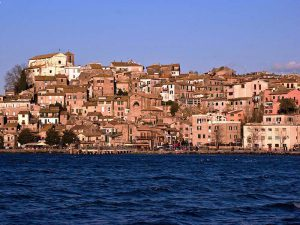 Anguillara Sabazia from the ship Sabazia II