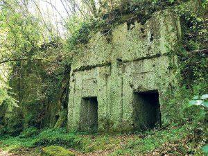 Etruscan tombs in Barbarano Romano