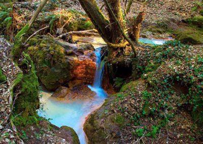Cascata Diosilla nel parco di Monterano