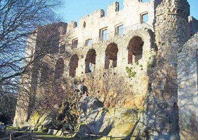 Palazzo baronale di Monterano