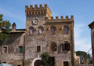 Civitella Cesi, il castello