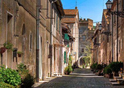Civitella Cesi, centro storico