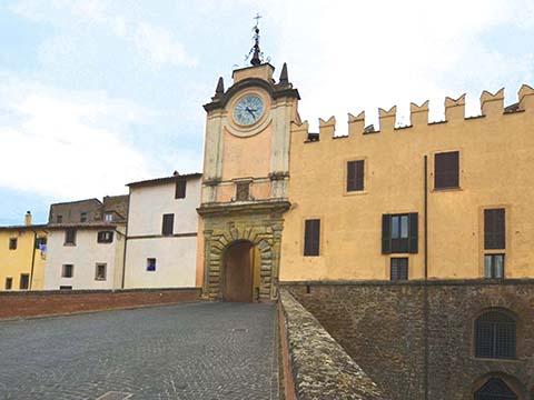 Capranica, Castello degli Anguillara