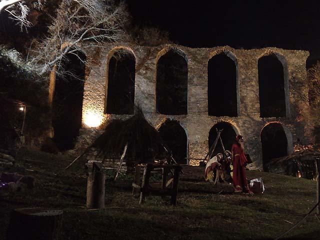 Presepe vivente medievale Monterano