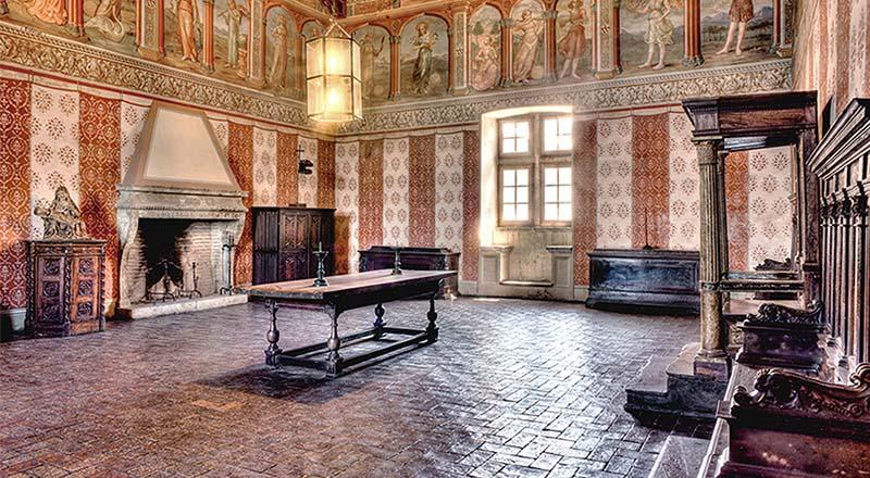 Sala della Scienza in Castle Bracciano