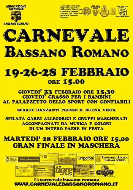 Carnevale Bassano Romano